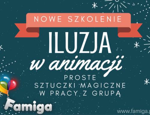 kurs ILUZJA W ANIMACJI 30.01.19 oraz 23.02.19 Kraków