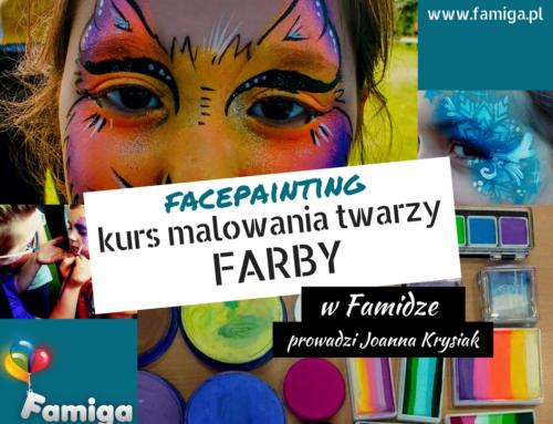Kurs Malowania Twarzy – FACEPAINTING – 17.05 Kraków, 24.05 Gdańsk, 12.06 Kraków, 18.06 Warszawa, 17.07 Kraków