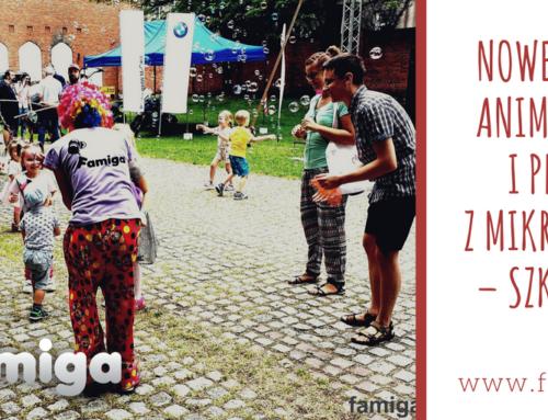 NOWE TAŃCE ANIMACYJNE + MIKROFON – szkolenie 26.04.18/ 19.05.18 Kraków